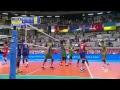 France Vs Azerbajian L 2018 FIVB Volleyball World Championship Men European Qualification