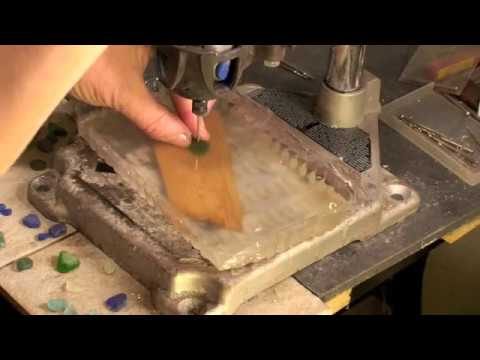 How to Drill Sea Glass
