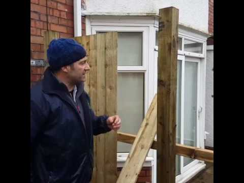 How To Build A Feather Edge Fence With Johnyboy