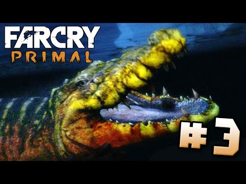 CROCODILES?!?! - Far Cry Primal | Part 3 (PS4) HD