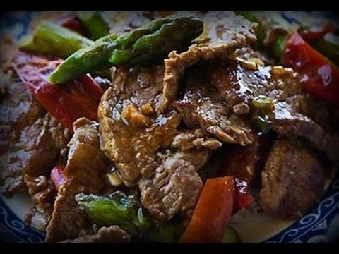 Beef with Vegetables Stir Fry