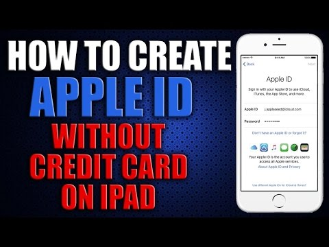 How to Create an Apple ID Without Credit Card 2016 on iPad