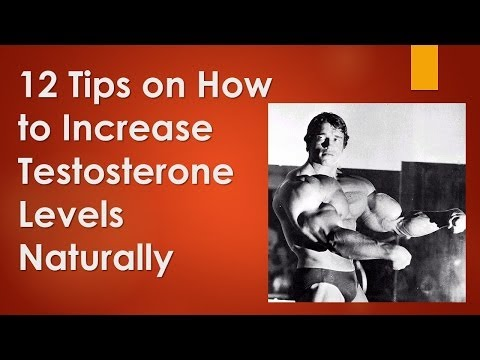 12 Tips on How to Increase Testosterone Levels Naturally