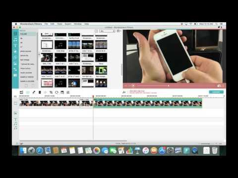Wondershare Filmora: TRIM/CUT/CROP/ROTATE/BLUR : How to Video