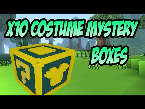Trove: Costume Mystery Box Opening! (NICE COSTUMES!)