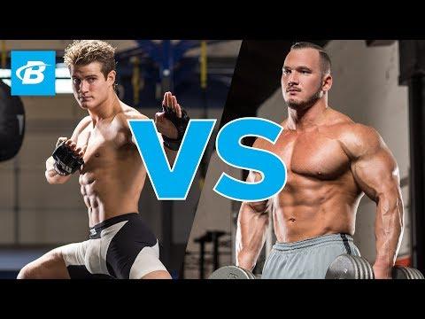Sage Northcutt vs Bodybuilder Hunter Labrada | MMA Workout
