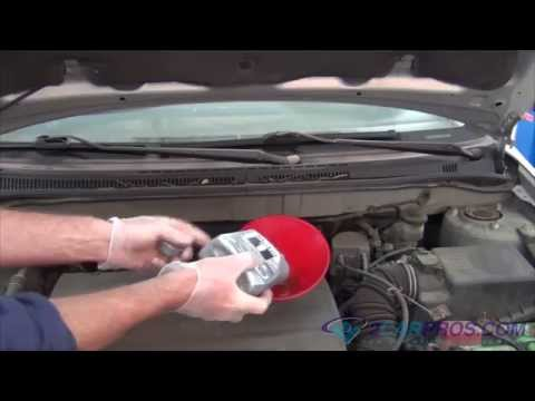 Oil Change & Filter Replacement Toyota Corolla 2000-2006