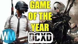 Top 10 Games of 2017: DECONSTRUCTED