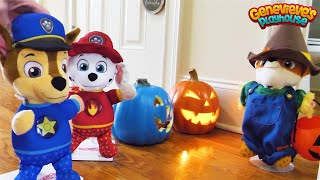 Toy Learning Videos for Kids Paw Patrol Halloween and Home Alone Skits!