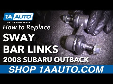 How to Install Replace Front Sway Bar Links 2005-09 Subaru Outback