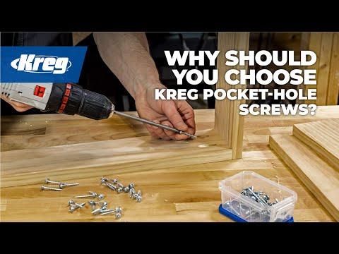 Your Kreg® Projects Demand Kreg® Screws