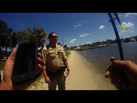 Open Carry Florida: Police Interaction at Sandsprit Park Stuart, Florida