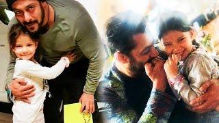 Salman Khan With His Little Fans On Tiger Zinda Hai Set In Austria