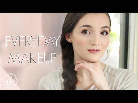 MY EVERYDAY SPRING MAKEUP | Easy & Affordable Look! | Natalie Bennett