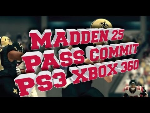 Madden 25 How to Pass Commit on Xbox 360 PS3 Xbox One & PS4
