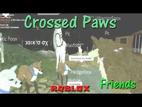 Roblox - Crossed Paws - Friends I - HD
