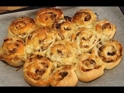 2 Ingredient Pizza Dough/  Scrolls