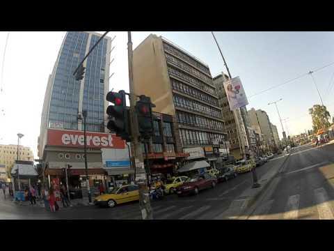 Ride into Piraeus, Greece