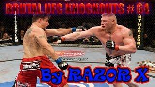 BRUTAL UFC KNOCKOUTS # 64 BELLATOR MMA 2016 [ Июнь ]