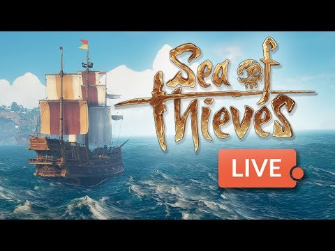 Sea of Thieves beta - LIVE! From Character Creation to Battle!