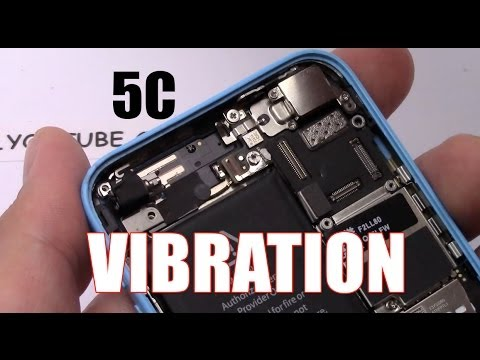 Sostituzione vibrazione iphone 5c vibrator vibration replacement