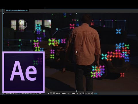 After Effects CC 2014 Tutorial -  3D Camera Tracking and Object Removal
