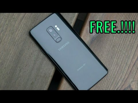 how to get a free samsung galaxy s9/s9 Plus