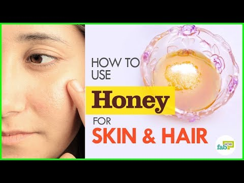 How to use Honey for Glowing Skin & Gorgeous Hair