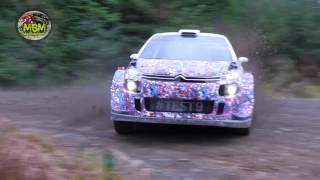 Kris Meeke 2017 Citroen C3 WRC Test - Day One