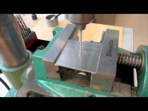 Mechanics 1 - 01 Mark, cut and drill an aluminium plate