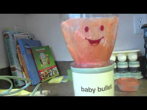Baby Food: Plum Puree