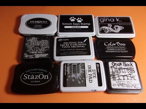 Choosing the Best Black Ink for the Right Paper & Coloring Medium