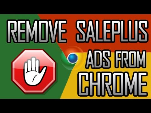 How To Remove SalePlus Ads from Google Chrome