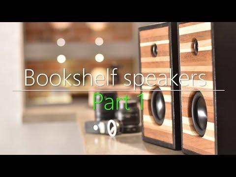 Bluetooth  Bookshelf speakers // Build video part1