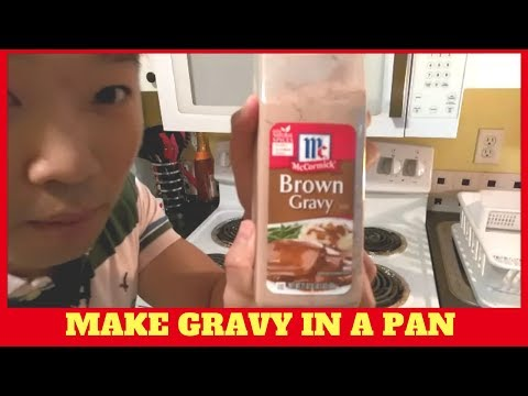 How to make brown gravy mccormick