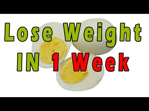 How to Use Boiled Egg To Lose Weight in 1 Week | Lose Belly Fat With Boiled Egg