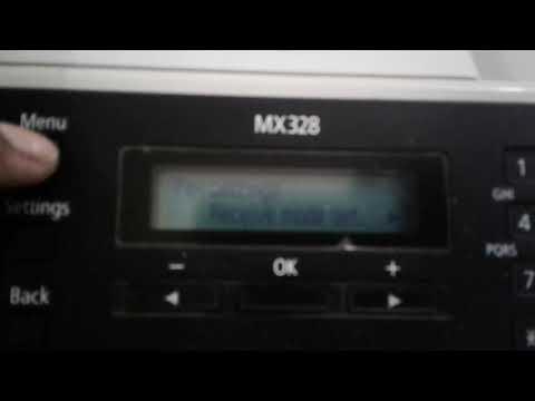 Printer canon mx 328 setting bahasa