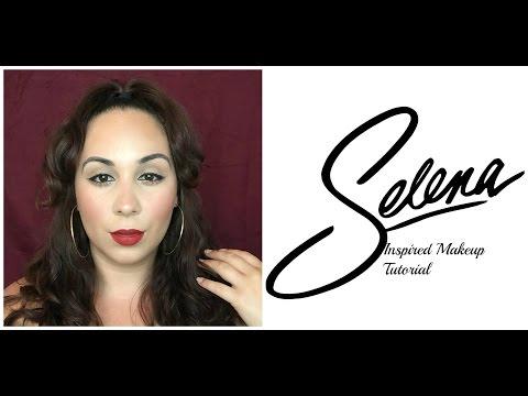 Selena Quintanilla-Perez Inspired Makeup (HAIR & MAKEUP TRANSFORMATION)
