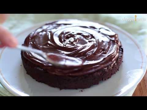 How to Make Chocolate Ganache Icing