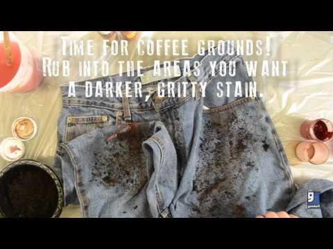 DIY Zombie Costume: Dirt & Splatter