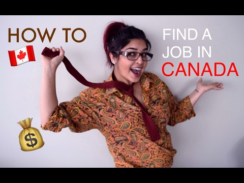 HOW TO | Get a Job in Canada | Job Application