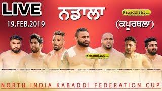 🔴 [Live] Nadala (Kapurthala) North India Kabaddi Federation Cup 19 Feb 2019