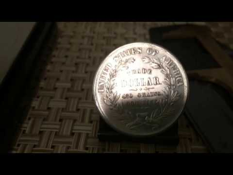 Platastacker Presents U.S. 1872 Replica Trade Dollar 18.1g ..1.5- Diameter