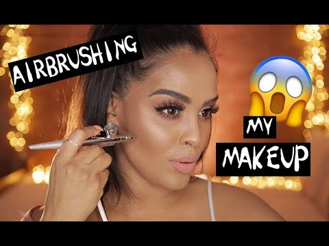 AIRBRUSH MAKEUP: HOW TO FOR FLAWLESS SKIN| NikkisSecretx
