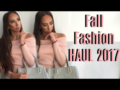 Fall Fashion TRY ON Haul 2017