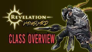 Revelation Online | Vanguard | Class Overview