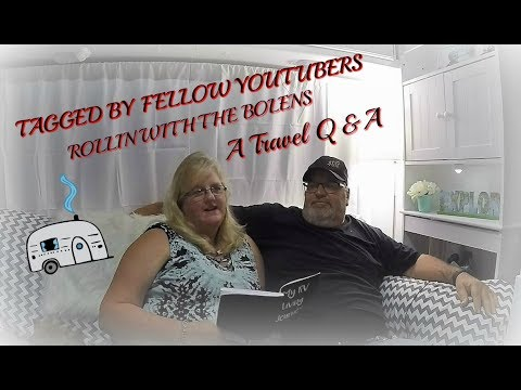 Tagged by Rollin with the Bolens for Travel Q & A