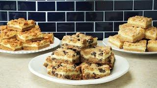 Cheesecake Cookie Bars 3-Ways // Presented By BuzzFeed & Pillsbury