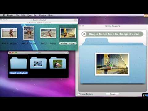 Put image on Folder Icons Free on Mac-MR