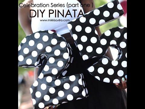 How to make a Pinata (Celebration series)